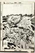 Original Comic Art:Covers, Jack Kirby and Frank Giacoia - The Champions #6 Cover Original Art(Marvel, 1976)....