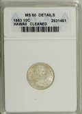 Coins of Hawaii: , 1883 10C Hawaii Ten Cents--Cleaned--ANACS. MS60 Details. NGCCensus: (0/87). PCGS Population (5/107). Mintage: 250,000. (#...