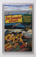"""Golden Age (1938-1955):Miscellaneous, Star Spangled Comics #105 Davis Crippen (""""D"""" Copy) pedigree (DC, 1950) CGC VF 8.0 Off-white pages...."""