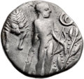 Ancients:Greek, Ancients: CRETE. Phaestus. Ca. 330-300 BC. AR stater (23mm, 11.66gm, 7h). Choice Fine....