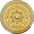 India:Bombay Presidency, India: British India. Manilal Chimanlal & Co. gold 5 Tolas NDMS63 NGC,...