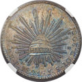Mexico, Mexico: Republic copper Pattern 8 Reales 1829 Pi-JS MS63 BrownNGC,...