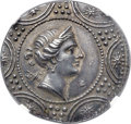 Ancients:Greek, Ancients: MACEDON. Roman occupation. Ca. 168-147 BC. AR tetradrachm (32mm, 16.76 gm, 3h). NGC AU ★ 5/5 - 5/5....