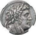 Ancients:Greek, Ancients: PHOENICIA. Tyre. Ca. 126/5 BC-AD 65/6. AR shekel (27mm,14.30 gm, 12h). NGC AU 5/5 - 4/5. ...