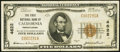 National Bank Notes:Pennsylvania, California, PA - $5 1929 Ty. 1 The First NB Ch. # 4622. ...
