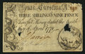 Colonial Notes:South Carolina, South Carolina April 10, 1778 3s 9d Very Fine.. ...