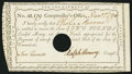 Colonial Notes:Connecticut, State of Connecticut Comptroller's Office Dec. 1, 1790 £2 ChoiceNew.. ...