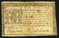 Colonial Notes:Maryland, Maryland March 1, 1770 $6 Very Fine.. ...