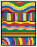 Fine Art - Work on Paper:Print, Sol LeWitt (1928-2007). Lincoln Center, 1998. Silkscreen incolors on Somerset Satin white paper. 35-1/2 x 28 inches (90...