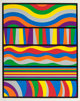 Sol LeWitt (1928-2007) Lincoln Center, 1998 Silkscreen in colors on Somerset Satin white paper 35-1/2 x 28 inches (90