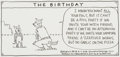 "Original Comic Art:Comic Strip Art, Hilary B. Price Rhymes With Orange ""The Birthday"" SinglePanel Comic Feature dated 8-7-2016 (King Features, 2016)...."