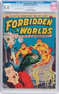 Golden Age (1938-1955):Science Fiction, Forbidden Worlds #2 (ACG, 1951) CGC VF 8.0 Off-white pages....