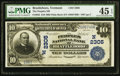 National Bank Notes:Vermont, Brattleboro, VT - $10 1902 Plain Back Fr. 632 The Peoples NB Ch. # (N)2305. ...