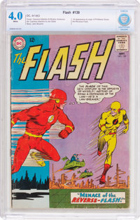 The Flash #139 (DC, 1963) CBCS VG 4.0 White pages