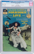 Bronze Age (1970-1979):Horror, Dark Mansion of Forbidden Love #3 (DC, 1972) CGC NM- 9.2 Whitepages....