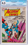 Silver Age (1956-1969):Superhero, Action Comics #252 (DC, 1959) CGC VG+ 4.5 Cream to off-white pages....
