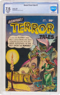Golden Age (1938-1955):Horror, Beware Terror Tales #2 (Fawcett Publications, 1952) CBCS VF- 7.5Off-white to white pages....