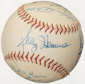 Autographs:Baseballs, St. Louis Cardinals Greats Multi-Signed Baseball....