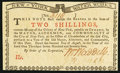 Colonial Notes:New York, New York August 2, 1775 (Water Works) 2s Choice New.. ...