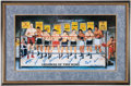 Boxing Collectibles:Autographs, 1995 Legends Of The Ring Multi-Signed Print....