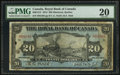 Canadian Currency: , Montreal, PQ- Royal Bank of Canada $20 Jan. 2, 1913 Ch. # 630-12-12. ...