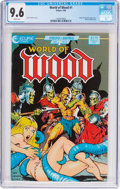 Modern Age (1980-Present):Miscellaneous, World of Wood #1 (Eclipse, 1986) CGC NM+ 9.6 White pages....