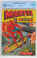 Golden Age (1938-1955):Superhero, Marvel Mystery Comics #30 (Timely, 1942) CBCS VF- 7.5 Off-white to white pages....