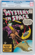 Silver Age (1956-1969):Science Fiction, Mystery in Space #48 Nova Scotia Pedigree (DC, 1958) CGC VF 8.0Off-white to white pages....