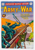Golden Age (1938-1955):War, Our Army at War #5 (DC, 1952) Condition: VG+....