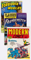 Golden Age (1938-1955):Miscellaneous, Golden to Silver Age Miscellaneous Publishers Group of 20 (Various Publishers, 1940s-60s) Condition: Average VG.... (Total: 20 Comic Books)