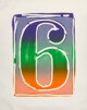 Jasper Johns (b. 1930) Figure 9, 1969 Lithograph in colors on Arjomari paper 38 x 31 inches (96.5 x 78.7 cm) (sheet)