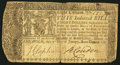 Colonial Notes:Maryland, Maryland January 1, 1767 $8 Fine.. ...