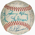 Autographs:Baseballs, 1962 St. Louis Cardinals Team Signed Baseball (27 Signatures)....