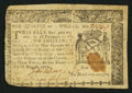 Colonial Notes:New York, New York August 13, 1776 $1/4 Fine.. ...