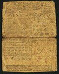 Colonial Notes:Delaware, Delaware March 1, 1758 20s Very Good.. ...