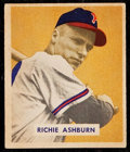 Baseball Cards:Singles (1940-1949), 1949 Bowman Richie Ashburn #214....
