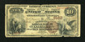 National Bank Notes:Nebraska, Omaha, NE - $10 1882 Brown Back Fr. 480 The Commercial NB Ch. #3163. ...