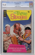 Bronze Age (1970-1979):Humor, Three Stooges #53 File Copy (Gold Key, 1971) CGC VF/NM 9.0 Off-white to white pages....