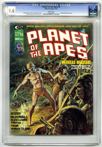Planet of the Apes #8 (Marvel, 1975) CGC NM+ 9.6 White pages