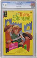 Bronze Age (1970-1979):Humor, Three Stooges #55 File Copy (Gold Key, 1972) CGC NM 9.4 Whitepages....