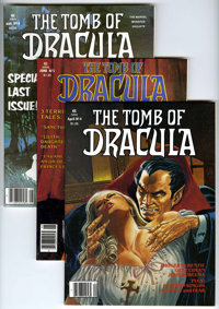 Marvel Mags - Tomb of Dracula and Vampire Tales Group (Marvel, 1974-80) Condition: Average NM-