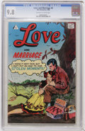 Silver Age (1956-1969):Romance, Love and Marriage #8 (I.W., 1958) CGC NM/MT 9.8 Off-white to whitepages....