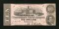 Confederate Notes:1862 Issues, T52 $10 1862.. ...