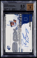 Football Cards:Singles (1970-Now), 2002 SPx Peyton Manning Supreme Signatures #SS-PM BGS NM-M...