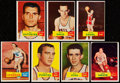 Basketball Cards:Lots, 1957 Topps Basketball Collection (7)....