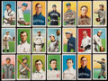 Baseball Cards:Lots, 1909-11 T206 Old Mill, Piedmont, Polar Bear and Sweet CaporalCollection (21)....