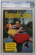 Golden Age (1938-1955):Romance, Romantic Story #17 Crowley Copy pedigree (Fawcett, 1952) CGC NM-9.2 Cream to off-white pages....
