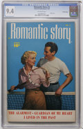 Golden Age (1938-1955):Romance, Romantic Story #3 Crowley Copy pedigree (Fawcett, 1950) CGC NM 9.4Off-white pages....