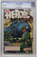 Golden Age (1938-1955):Non-Fiction, Heroic Comics #76 File Copy (Eastern Color, 1952) CGC VF 8.0Off-white pages....