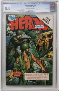 Heroic Comics #79 File Copy (Eastern Color, 1953) CGC VF 8.0 Cream to off-white pages